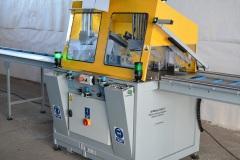Pierwsza maszyna dwugłowicowa - wykonana dla ALUPROF Opole - dział prototypowni